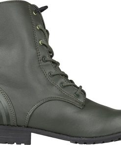 Adidas Neo Military - дамски ботуши от естествена кожа - Alf.bg