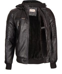 Мъжко кожено яке – P3200 - Alf.bg