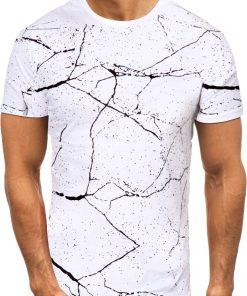 Мъжка тениска X2070 Бял - Alf.bg