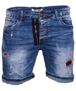 Къси мъжки дънки X26 - Alf.bg
