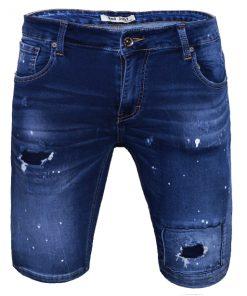 Къси мъжки дънки X27 - Alf.bg