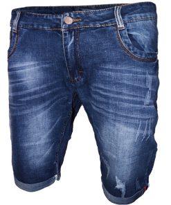 Къси мъжки дънки X016 - Alf.bg