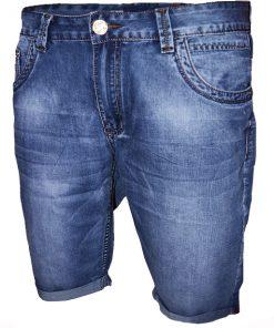 Къси мъжки дънки X017 - Alf.bg