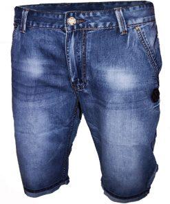 Къси мъжки дънки X018 - Alf.bg