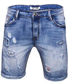 Къси мъжки дънки X23 - Alf.bg