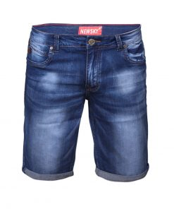 Къси мъжки дънки X41 - Alf.bg
