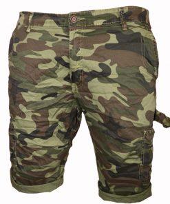 Къси мъжки карго панталони X12 - Alf.bg