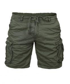 Къси мъжки панталони X37 Зелен - Alf.bg