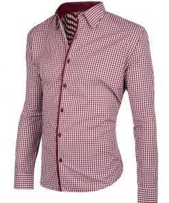 Мъжка карирана риза Елегант - Alf.bg