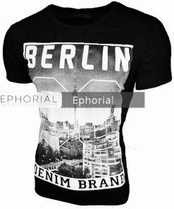 Мъжка тениска X2011 черна - Alf.bg