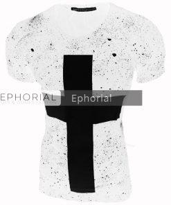 Мъжка тениска X2014 бяла - Alf.bg