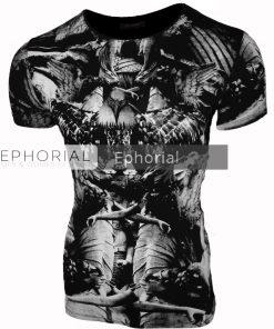 Мъжка тениска X2017 черна - Alf.bg