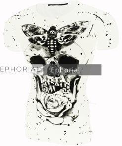 Мъжка тениска X2018 бяла - Alf.bg