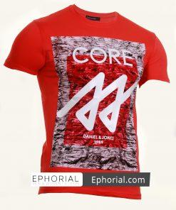 Мъжка тениска X2034 червена - Alf.bg