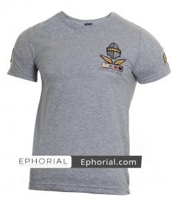 Мъжка тениска X2037 сив - Alf.bg