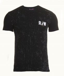 Мъжка тениска X2038 - черен - Alf.bg