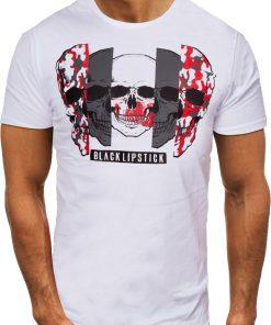 Мъжка тениска X2054 Бял - Alf.bg