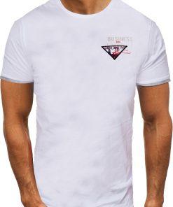 Мъжка тениска X2058 Бял - Alf.bg