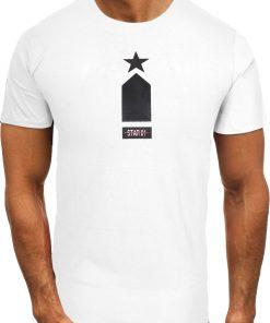 Мъжка тениска X2075 Бял - Alf.bg