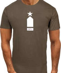 Мъжка тениска X2075 Зелен - Alf.bg