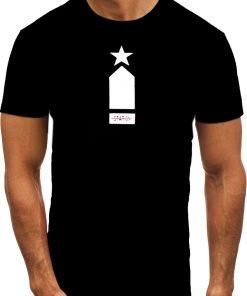 Мъжка тениска X2075 Черен - Alf.bg