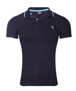 Мъжка тениска X2090 Син - Alf.bg