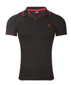 Мъжка тениска X2090 Черен - Alf.bg
