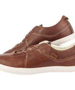 Мъжки кафяви кожени обувки Umbro Terrace - Alf.bg