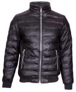 Мъжко зимно кожено яке - 3157 - Alf.bg