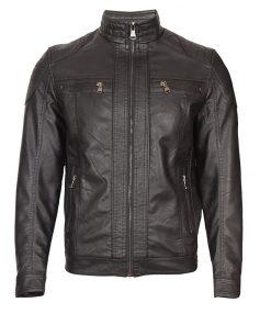 Мъжко кожено яке - 3198 - Alf.bg
