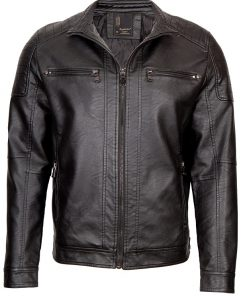 Мъжко кожено яке - 3242 - Alf.bg