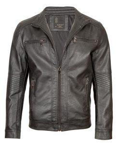 Мъжко кожено яке - 3244 - Alf.bg